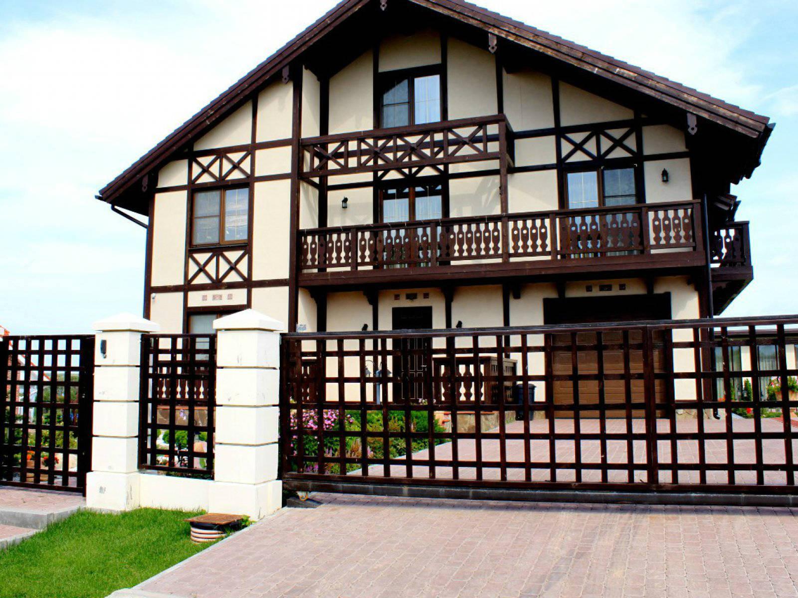 Как сделать немецкий фасад дома